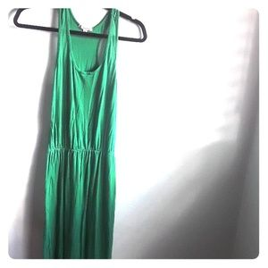 Basic Green maxi dress